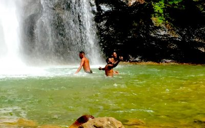 Hike to and Picknick at Syndicate (Milton) Falls: