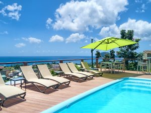 Hotel The Champs - Pool and Sea View