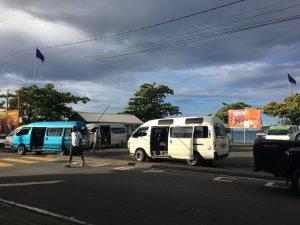 Minibus Bus stop