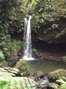 Emerald Falls waterfall pool UNESCO
