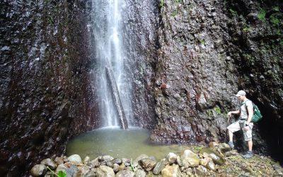 Hiking Bwa Nef Falls